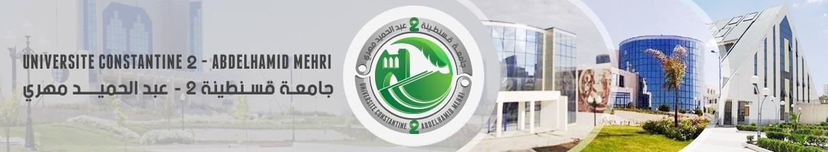 Université Constantine 2 Abdelhamid Mehri